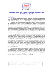 CE 365 Lecture on Centrifugal pumps