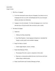 chp 3 outline