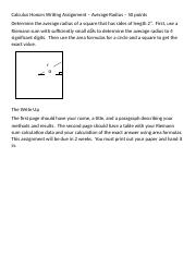 Calculus Honors Writing Assignment -RadiusOfASquare (1) (1) (1).docx