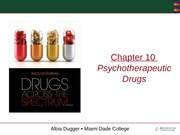 GNM Psychotherapeutic Drugs Ch10