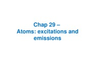 Chap29--Atoms_excited