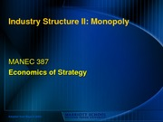 16 - Industry_Structure_Monopoly