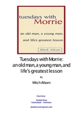 Mitch Albom - Tuesdays with Morrie(2)