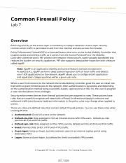 LAB 7 Firewall Policies.pdf