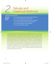6 Chapter 2 Tabular and Graphical Methods