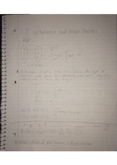 Inverse and 1-1 Functions