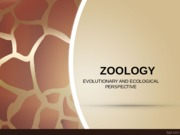 Zoology Introduction