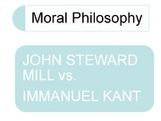 7 Mill's Utilitarianism and Kant's Duty-Based