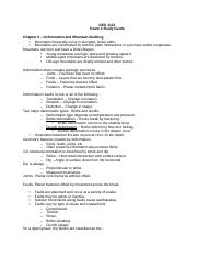 Geology 1121 Study guide exam 3.docx