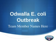 Communications Strategy Memo PowerPoint - Odwalla