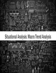 L4 Situational Analysis Macro Trends  Final