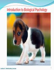 2016 Lecture 1 Introduction to Biological Psychology.ppt