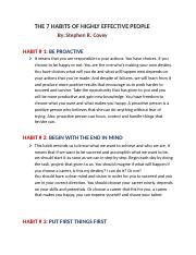THE 7 HABITS OF HIGHLY EFFECTIVE PEOPLE.docx