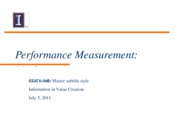 10_Perf_Measurement_Markets