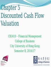 Chapter 5 Discounted Cash Flow Valuation.pptx