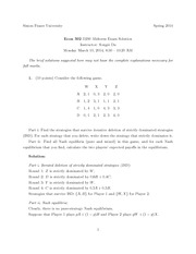 ECON 302 Spring 2014 Midterm Solutions