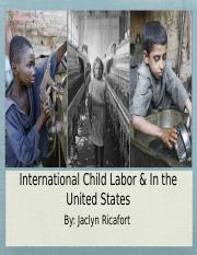 International Child Labor and in the United States 2.pptx