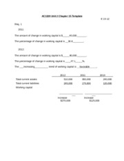 AC1320 Unit 2 Chapter 15 Template