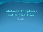 Class+10+_Substantial+Compliance+and+Harmless+Error_