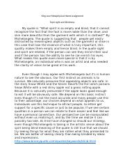 King Lear Metaphysical theme assignment (Autosaved).docx