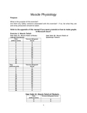 exercise physiology lab report
