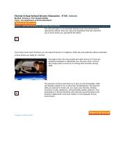 florida drivers ed modules 1 2 Take your permit test (aka dmv exam) online - the 50 question permit test is the written knowledge exam you must pass to get your learners permit or first drivers license in florida the permit test can be taken at 14 1/2 years old.