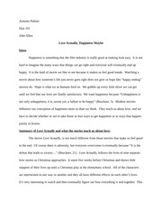 Final Honors Paper