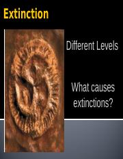 3.6 Extinction and Evolutionary Trends(Active)
