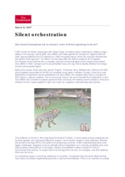 Silent orchestration