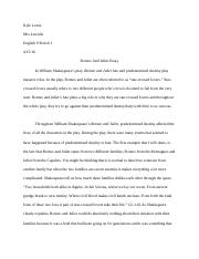 Romeo and Juliet Essay.docx