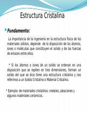Celda Unitaria Red Estructura Cristalina Hay 7 Arreglos