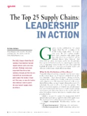 Top 25 Supply Chains in 2011 leadership in Action.pdf