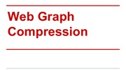 Web Graph Compression