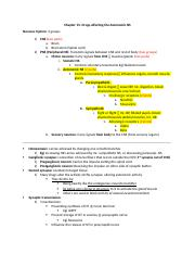 Chapter 13- Drugs affected the autonomic NS.docx