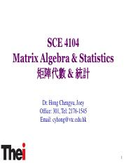SCE 4104 Matrix Algebra  statistics Topic 3 (1).pdf
