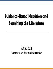 Aafco Dog Food Nutrient Profiles Based On Dry Matter