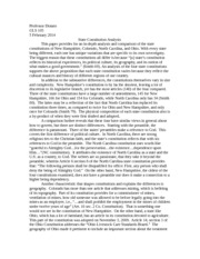 state constitution paper final