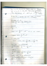 MATH 112 Calculating Differentials Notes