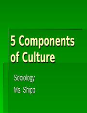 5_Components_of_Culture.ppt