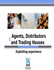 4- Agents, Distributors and Trading Houses.pptx