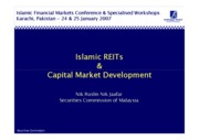 Islamic REITs & Capital Market Development