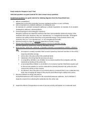 Study Guide for Chapters 6 and 7 Test.docx