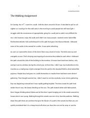 The Walking Assignment.docx