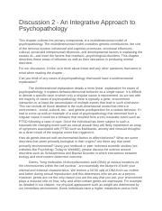 Discussion_2_-_An_Integrative_Approach_to_Psychopathology