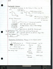 Lecture Notes - Experimental Concerns, Calibration