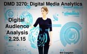 Digital Audience Analysis Lecture