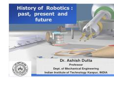 Sensors and Actuators pdf - Sensors and Actuators used in Robotics