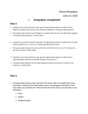 01.01 Geography Assignment