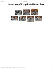 Long Tool Installation