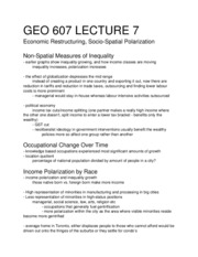 GEO 607 - Lecture 7